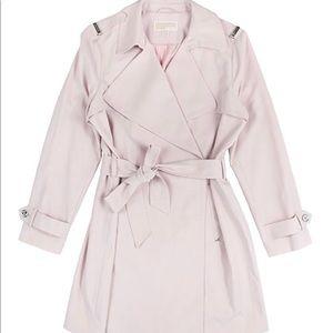 Michael Kors light pink trench coat